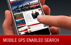 Mobile GPS Enabled Search App